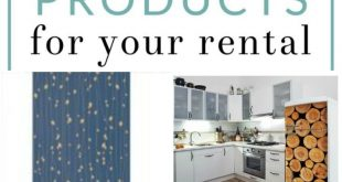 9 Removable Products for your Rental - Cute Apartment Decor