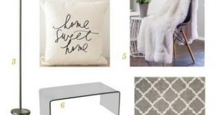 27 Ideas Apartment Checklist Furniture