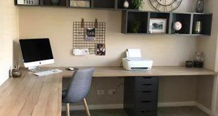 45 + Home Office Decor Ideen für Ihre perfekte Arbeit bei Lovely Home