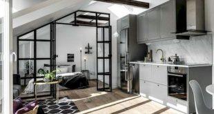 50+ Amazing Tiny Loft Apartment Decor Ideas