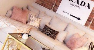 52 Przytulne i proste pomysły na dekorowanie salonu w wiejskim domu ~ Pomysły na dom Reno