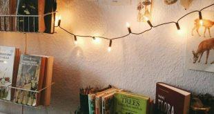 Lichterketten + Bücher // Shop 100% Bambus Eco-friendly Bedding & Apparel xx www.y